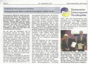 DBF GAZ Ehrenamtspreis 2016